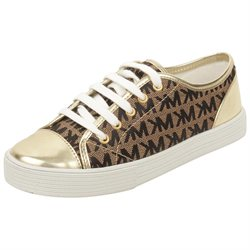 MICHAEL Michael Kors Toddler/Youth Mmk Sneaker in Gold T11 W US