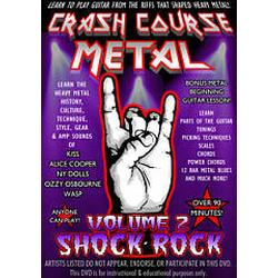 MVD Entertainment CCM2 Crash Course Metal Vol. 2: Shock Rock DVD