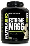 NutraBio Extreme Mass Vanilla 6lb