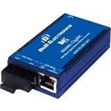 B B SmartWorx IMC MiniMc-Gigabit Twisted Pair to Fiber Media Converter 855-10736