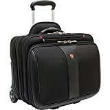 Wenger Patriot Rolling Case Blk Up To 17IN Laptop with notebook Case