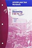 Discovering French, Nouveau!: Activites pour tous with Lesson Review Bookmarks Level 3