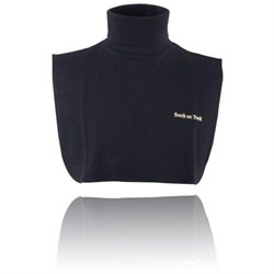 Back On Track Neck Cover with Dickey Bib L Black