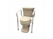 Roscoe Medical Ros-tsf4 Toilet Safety Frame Gray