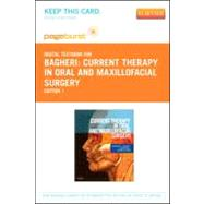 Current Therapy in Oral and Maxillofacial Surgery - Pageburst Retail (User Guide and Access Code)