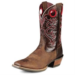 Ariat Western Boots Mens Crossfire 8 EE Weathered Brown 10008803