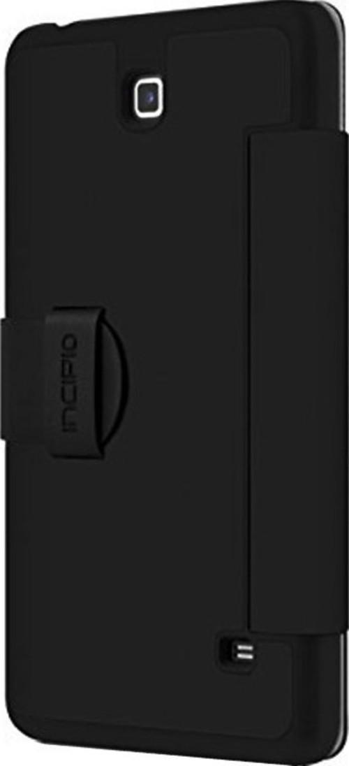 Incipio Lexington Case For Samsung Galaxy 7-inch Tab 4 - Black - Sa-545-blk - Carrying Case - Dent Resistant Interior - Impact Resistant - Vegan Leath