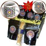 cgb_73580_1 Danita Delimont - Moorish Architecture - Morocco, Hassan II Mosque mosaic, Islamic tile detail-AF29 KWI0018 - Kymri Wilt - Coffee Gift Baskets - Coffee Gift Basket