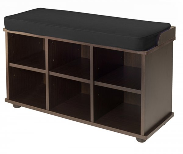 Townsend Storage Hall Bench - by Winsome Trading - 92633