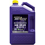 Royal Purple 51520 API-Licensed SAE 5W-20 High Performance Synthetic Motor Oil - 5 qt.