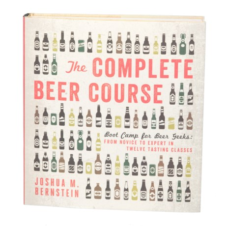 The Complete Beer Course, Hardcover Book