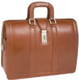 McKleinUSA 83344 Morgan 17 Litigator Laptop Brief - Brown