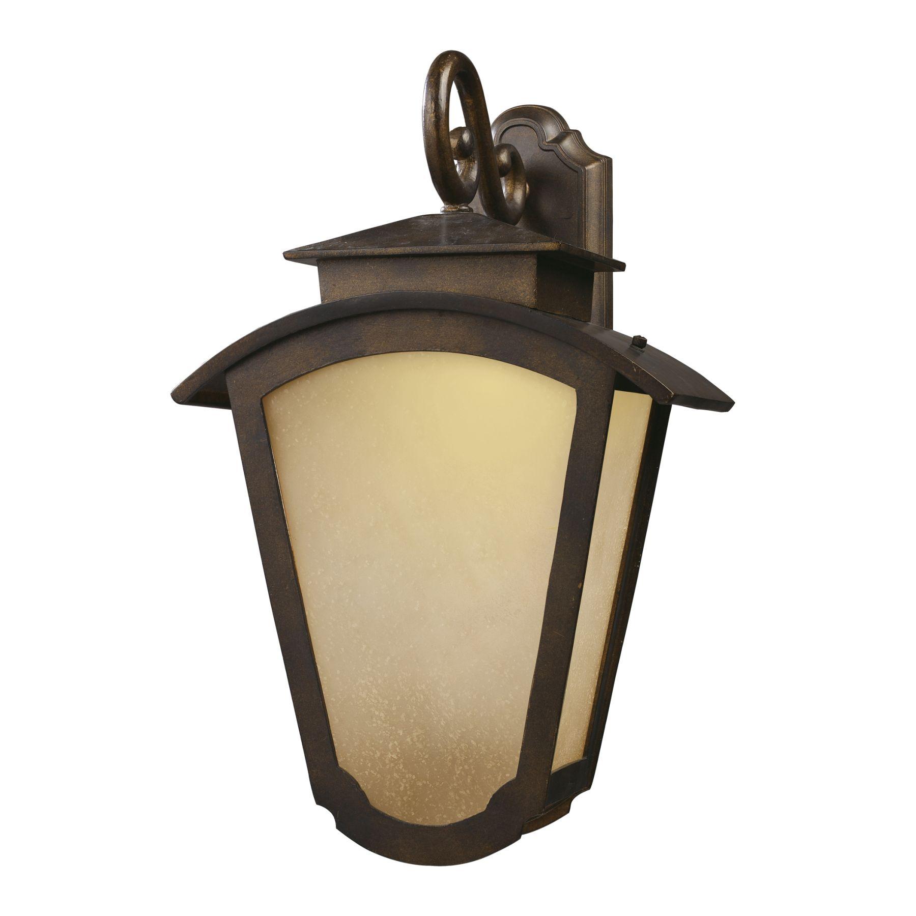 Elk Lighting 42242/2 Porter 2-Light Outdoor Title 24 Compliant Led Wall Mount In Hazelnut Bronze