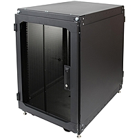 P Rack Solutions' 16U Office Cabinet securely houses servers and other IT equipment, yet fits in an office enviroment