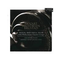 Violin And Viola Duos: Mozart, Brustad, Halvorsen (Music CD)