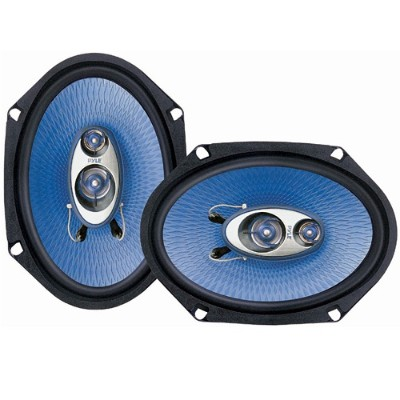 Pyle Pl683bl 6'' X 8'' 360 Watt Three-way Speakers - Pair