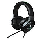 Razer Rz04-01250100-r3u1 Kraken 7.1 Chroma Sound Usb Gaming Headset - 7.1 Surround Sound With Retractable Digital Microphone And Chroma Lighting - Black