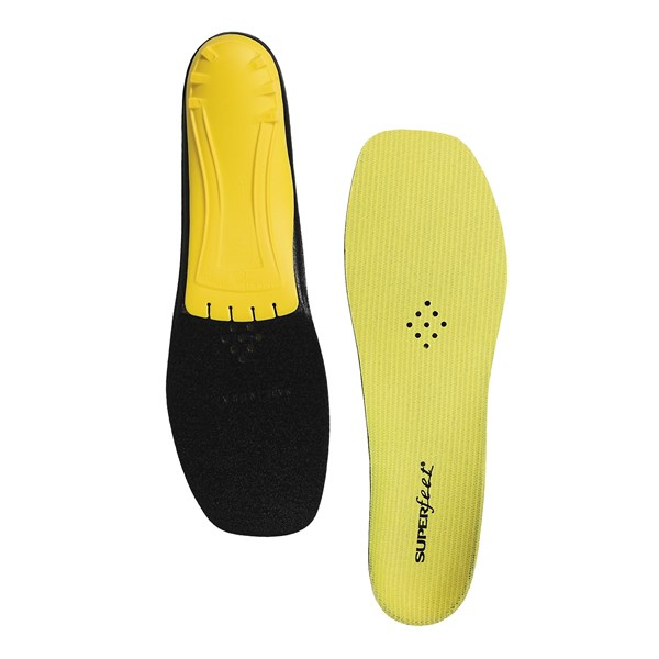 Superfeet Yellow Trim-to-fit Insoles - Low/medium Arch (for Men And Women)
