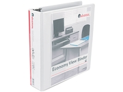 Round Ring Economy Vinyl View Binder, 2