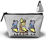 Unisex Stylish And Practical Banana Loyal Cute Knights Trapezoidal Storage Bags Handbags