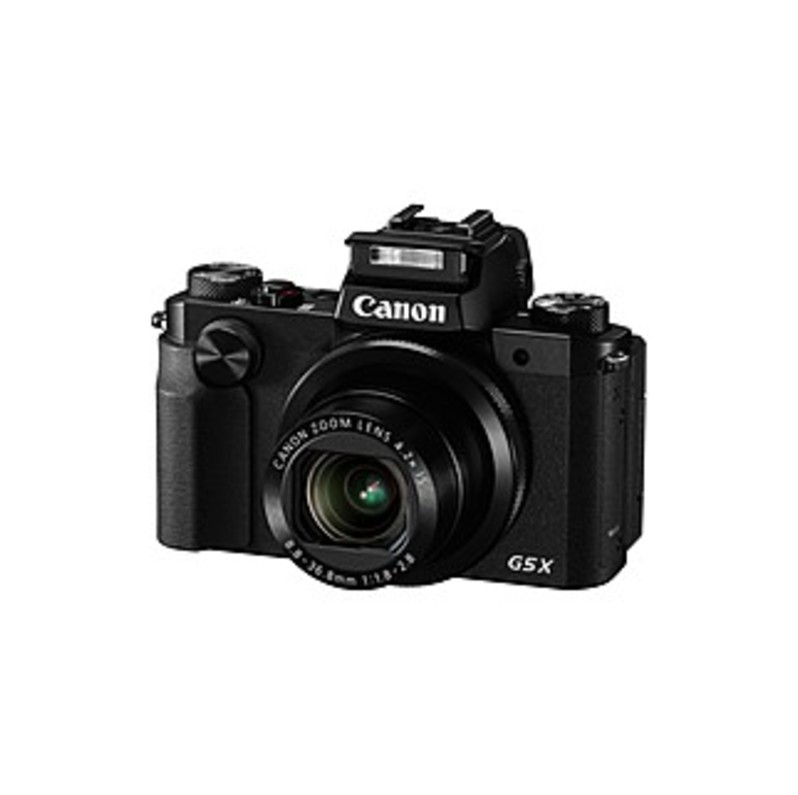 "Canon Powershot G5 20.2 Megapixel Bridge Camera - Black - 3"" Touchscreen Lcd - 16:9 - 4.2x Optical Zoom - 4x - Optical (is) - Ttl - 5472 X 3648 Image"