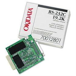 Oki Super-Speed 19.2K RS-232C Serial Adapter - 1 x 9-pin DB-9 RS-232C Serial