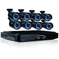 Night Owl 16 Channel Smart Hd Video Security System With 2 Tb Hdd And 8 X 720p Hd Cameras - Digital Video Recorder, Camera - 2 Tb Hard Drive - 15 Fps - 720 - Composite Video In - Composite Video Out - 4 Audio In - 1 Audio Out - 1 Vga Out - Hdmi B-a720-162-8