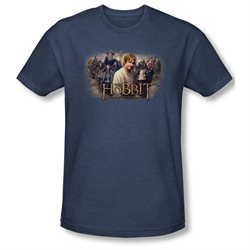 Mens THE HOBBIT Short Sleeve HOBBIT RALLY Large Heathered T-Shirt Tee
