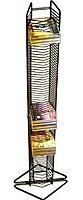 Atlantic Onyx 031742012488 1248 80 Cd Tower Media Storage Rack - Matte Black