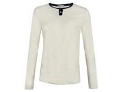 Oliver Spencer Jasper Peleton Henley T-shirt Colour: Oat,