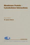 Membrane Protein-cytoskeleton Interactions