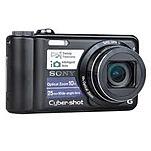 Sony Cyber-shot Dsc-h55 14.1 Megapixels Digital Camera - 2x Digital Zoom - 10x Optical Zoom - 3-inch Lcd Display - Rechargeable - Black Dsc-h55/b