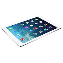 """Apple Ipad Air Md788ll/b Tablet - 9.7"""" - Apple A7 Dual-core (2 Core) 1.30 Ghz - 16 Gb - Ios 7 - 2048 X 1536 - In-plane Switching (ips) Technology, Retina Display - Silver - 4:3 Aspect Ratio - Wireless Lan - Bluetooth - Front Camera/webcam - 5 Megapixel Re"""