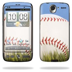 Protective Vinyl Skin Decal Cover for HTC Desire Smart Phone Cell Phone Sticker Skins Cell Phone - Baseball
