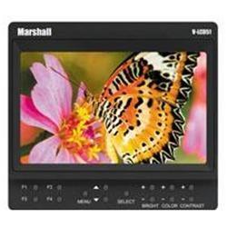 Marshall V-LCD51 5 LCD Monitor and Pre-Installed Nikon EN-EL3 Battery/Adapter, 800x480 Resolut