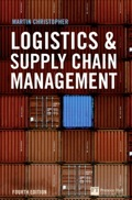 Effective development and management of a supply chain network is an invaluable source of sustainable advantage in today's turbulent global marketplace, where demand is difficult to predict and supply chains need to be more flexible as a result.This updated 4th edition of the bestselling Logistics and Supply Chain Management is a clear-headed guide to all the key topics in an integrated approach to supply chains, including:• The link between logistics and customer value.• Logistics and the bottom line measuring costs and performance.• Creating a responsive supply chain.• Managing the global pipeline.• Managing supply chain relationships.• Managing risk in the supply chain.• Matching supply and demand.• Creating a sustainable supply chain.• Product design in the supply chain.