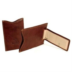 Tony Perotti Personalized Leather Magnetic Money Clip