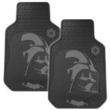 Plasticolor 001582R01 Star Wars Darth Vader Floor Mat Set