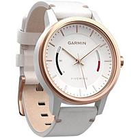 Garmin 010-01597-13 Vivomove Classic Smartwatch - Rose Gold-tone With Leather Band