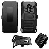 Asmyna Cell Phone Case for ASUS ZenFone 2E - Retail Packaging - Black