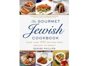 """The Gourmet Jewish Cookbook Binding: Hardcover Publisher: Thomas Dunne Books Publish Date: 2014/08/26 Synopsis: """"From modern spins on classics, like Schnitzel Noodle Stir Fry and Matza Granola, to make-ahead meals, like Passover Beef Lasagna, to sophisticated dishes, like Veal Chops with Mushroom Sauce, this cookbook covers it all"""