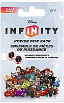 The Disney Series 2 Infinity Power Disc Pack is compatible with GameCube, Xbox 360, Nintendo Wii, PlayStation, 2, 3 platform.