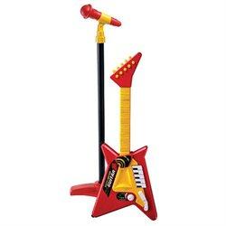 Rock 'N Rhythm Guitar with Microphone