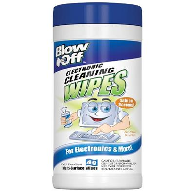 Max Professional Wpe-002-091 Blow Off Electronic Cleaning Wipes