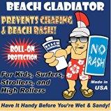 Beach Gladiator Anti-Chafe Roll-On Rash Guard for Beach/Surf Rash