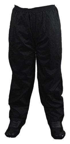 Vega Rain Pants (Black, Large)