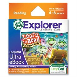 LeapFrog LeapPad Ultra eBook Learn to Read Collection: Adventure Stories
