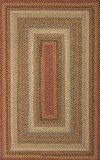 Jaipur RUG119633 Braided Solid Pattern Cotton & Polyester Area Rug, 6' by 9', Red/Ivory