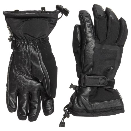 Detect S Skiing Gloves - Waterproof, Insulated, Leather (for Men And Women)
