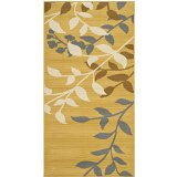 Safavieh Hampton Collection HAM551AC Area Rug, 4-Feet by 6-Feet, Camel and Ivory